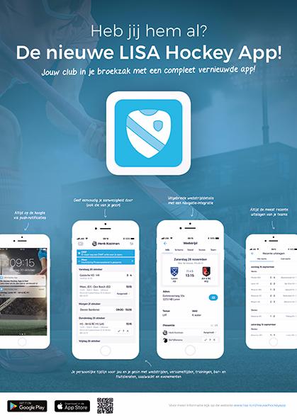 De nieuwe LISA app
